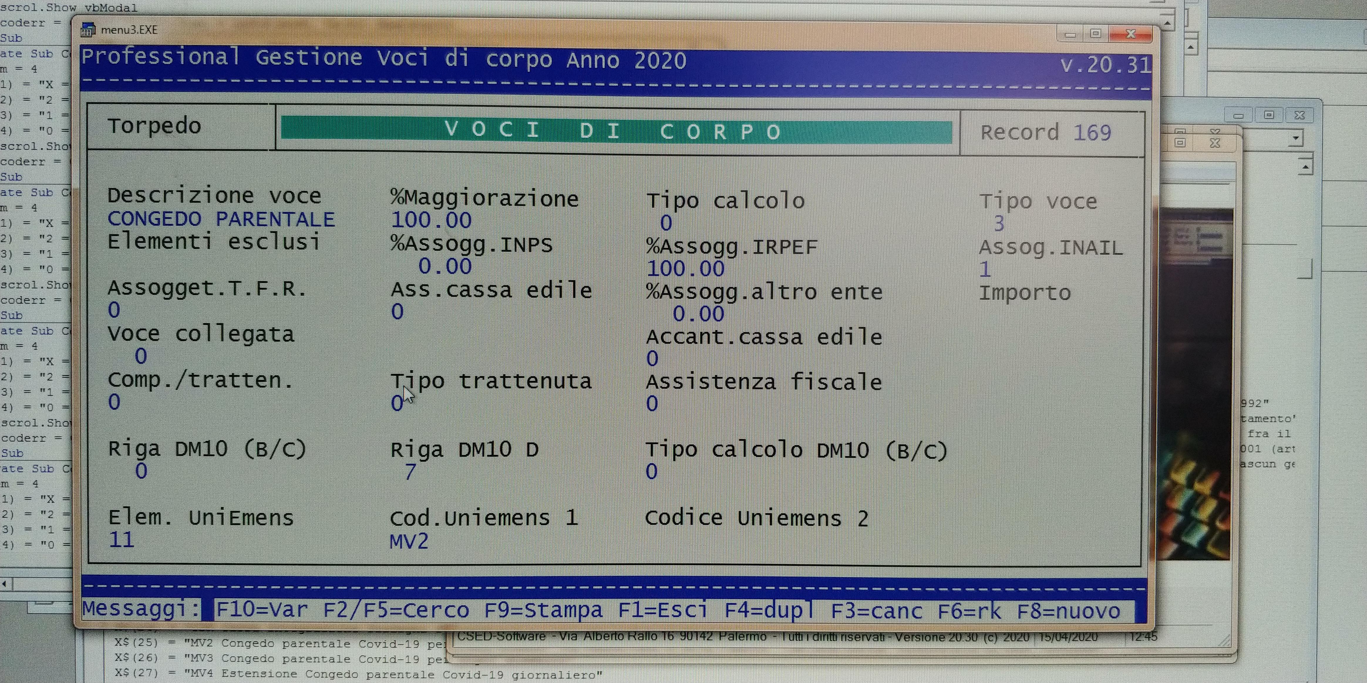 Aggiornamento Software Di Controllo Uniemens Individuale PATCHED voce
